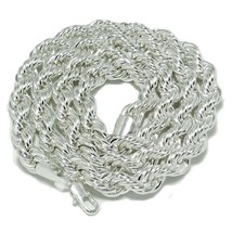 """Hip Hop BIG LONG Rope Chain Necklace 36"""" 10 mm shiny Gold or Silver plat... - $24.99"""