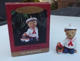 Vintage Hallmark 1993 The Bearingers Abernathy Bearinger Bear Christmas ... - $7.83