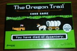 The Oregon Trail Card Game 2016 Pressman Target Exclusive - $2.19