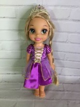 Disney Tangled Princess Rapunzel Glow and Style Toddler Doll Hair Glows ... - $71.28