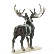 Hagen Renaker Miniature Bull Moose on Base Ceramic Figurine image 5