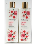2 Bottles Bodycology 12oz Sweet Love With Moisturizing Shea Delicate Bod... - $16.99
