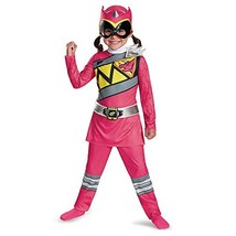 Disguise Pink Ranger Dino Charge Toddler Classic Costume, Medium 3T-4T - $22.91