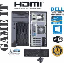 Dell Precision T1700 Computer i5 4570 3.20ghz 8gb 500gb SSD Windows 10 6... - $359.30
