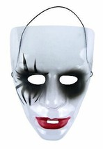 Transparent Halloween Maske - Tag der Toten / The Purge , Maske A, Kostüm - £1.89 GBP