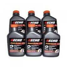 6450002 (6) Echo 2 Gallon Power Blend Xtended Life Oil Gas Mix 2 Stroke ... - $24.99