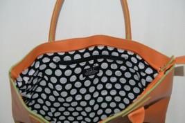 Mainstreet Spring Collection HBCH3903 Charleston Handbag Color Tangerine image 2