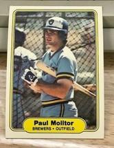 1982 Fleer BaseballCard #148 PAUL MOLITOR  Brewers - $0.98