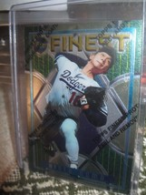 1995 Hideo Nomo Mlb Topps Finest Rc Card # 228 W Coating - $19.79