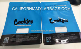 Cookies SF ZIP BLUE cooks BAGS - 28G+ SIZE ONE OUNCE OR OZ+ - 5 pcs