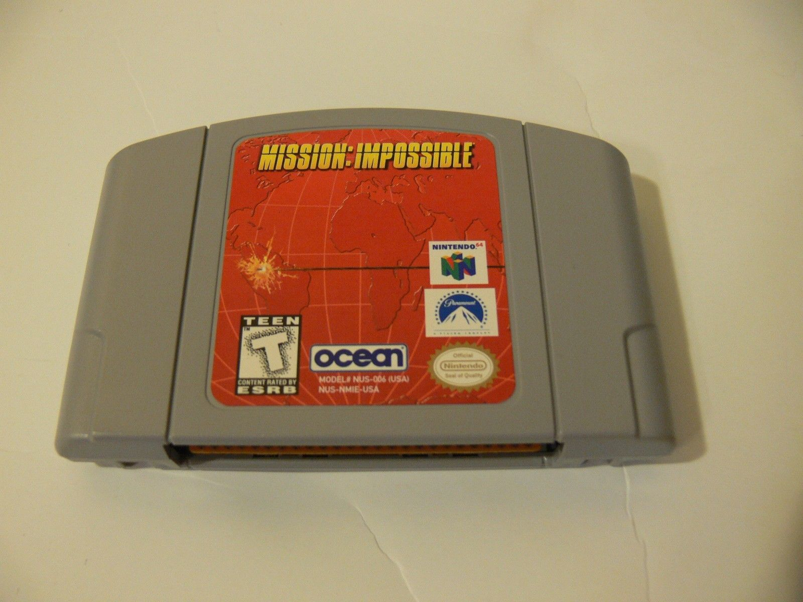 Mission: Impossible (Nintendo 64, 1998)