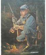 Signed William (Bill) Convery Western Art Americana MILITARY Painting De... - $280.49
