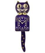 Limited Edition Flower Kit-Cat Klock Swarovski Crystals Jeweled Clock Pu... - $149.95