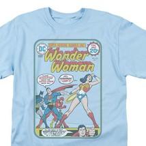 Wonder Woman Superman Flash Batman retro style T Shirt vintage DC Comics  JLA212 image 2