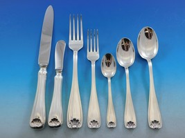 Cellini by Fortunoff Italy Sterling Silver Flatware Set Service Dinner 9... - $11,385.00