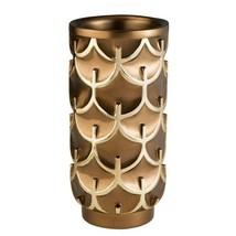 7 in. W x 14.25 in. H Mystic Owl Decorative Vase in Gold - $80.90