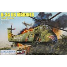 Trumpeter 1:48 H-34 US Marines plastic model helicopter - $78.03