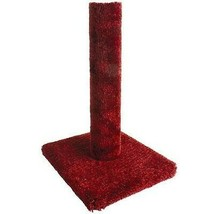Classy Kitty Cat Carpet Scratching Post, Assorted Colors 26-Inch - £24.34 GBP