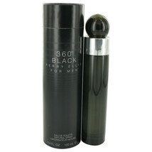 Perry Ellis 360 Black By Perry Ellis Eau De Toilette Spray 3.4 Oz For Men - $36.63