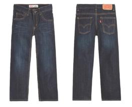 Levi's® Boys 10 505 Regular Blue Jeans 23X25 - $19.79
