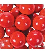 Large Red Gumballs 2 lb - $16.40