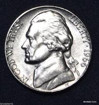 1966 BU Jefferson Nickel Free Shipping Satisfaction Guaranteed - $2.49