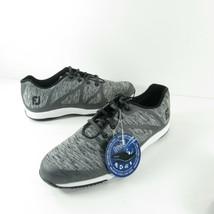 NWT Ladies FootJoy Leisure 92904 Golf Shoes- gray- black Size 10M - $44.99