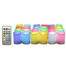 Candle Choice 24-Pack Realistic Color Changing Flameless Votive Candles ... - $45.32