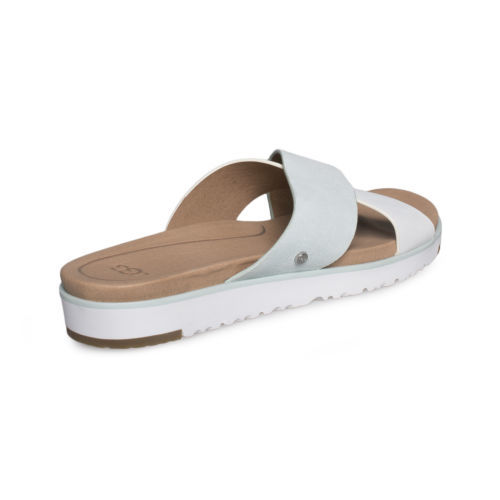 d63f685505f Ugg Kari Aqua Leather Flat Slide Sandal and 50 similar items