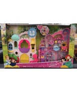 Disney Princess Little Kingdom Play 'n Carry Castle Folds + Cinderella &... - $47.50