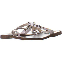 Steve Madden 8931 Slip On Flat Sandals, White 388, White, 8 US - $15.35