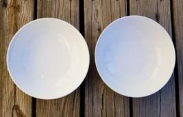 "Pier 1 Imports Luminous White Porcelain Individual Pasta Bowl 9"" - $56.84"