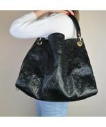 Louis Vuitton Limited Edition Black Noir Python Artsy MM Bag - $3,499.00