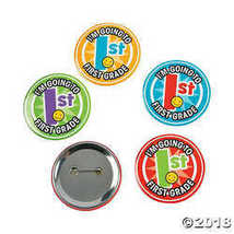 I'm Going To First Grade Buttons  - $8.99