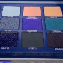 NEW IN BOX Jeffree Star BLUE BLOOD Palette 18 Pans Of Blue CRUELTY FREE SEE PICS image 5