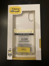 OtterBox Symmetry Clear case for Apple iPhone X And XS Sleek Protection - $11.99
