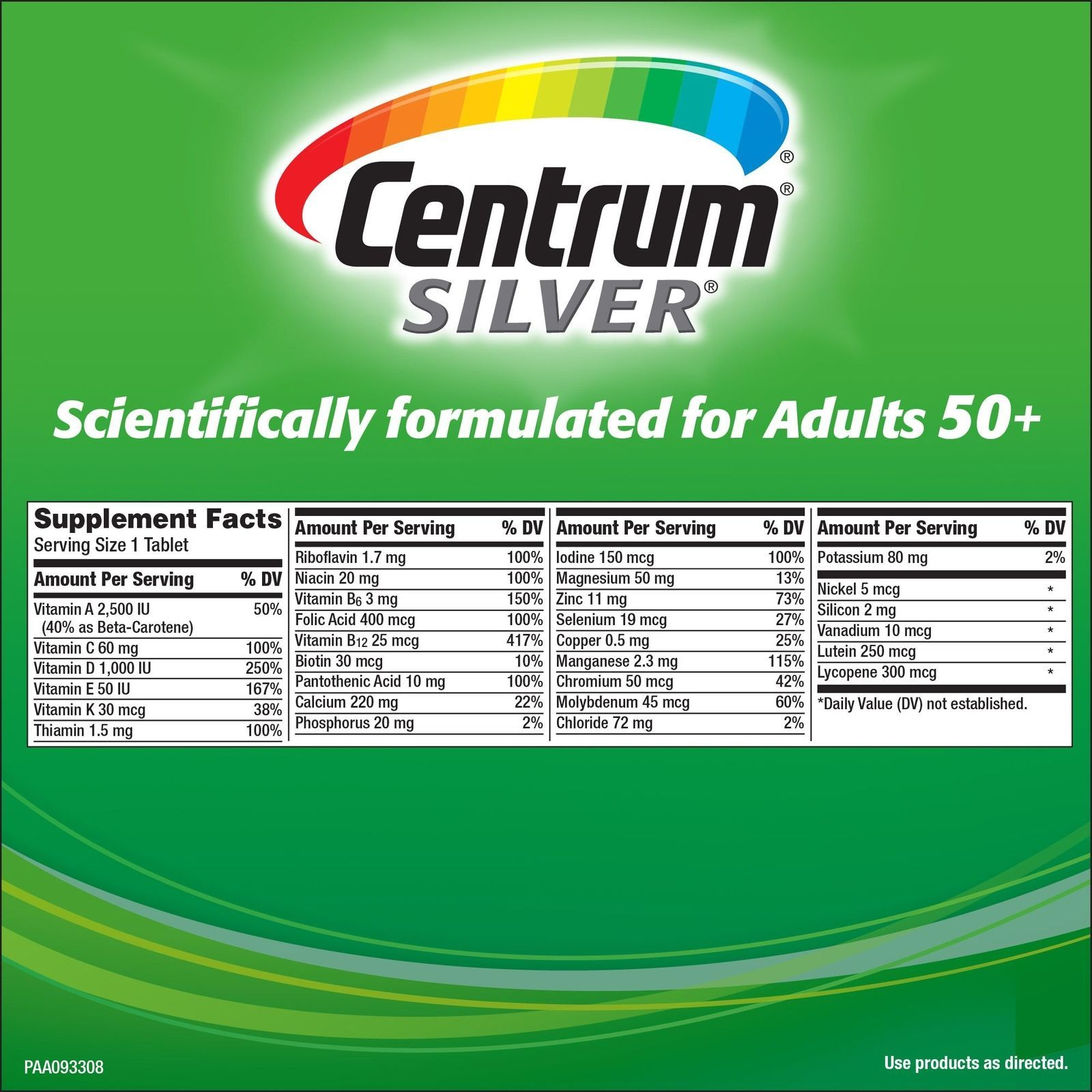 Centrum Silver Adults 50 325 Tablets And 50 Similar Items