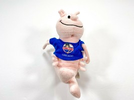 "Fiesta Bubba Gump Chicago Plush Shrimp Souvenir Stuffed Toy 9.5"" in - $14.99"