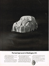 Vintage 1968 Magazine Ad Volkswagen The Best Kept Secret in Washington DC - $5.93