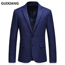 "2017 autumn blazer men""s business casual suits men single breasted coat ... - $100.00"