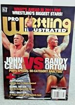 Pro Wrestling Illustrated February 2011 Cena Orton  - $11.29