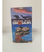 Walking with Dinosaurs BBC VHS Tapes  2 Tape Set NTSC Untested  - $11.64