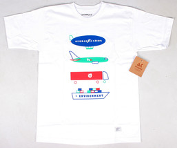 Akomplice Men's Globalization F$$$$ UP Environment Tee NWT White image 1