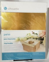 Silhouette Printable Gold Foil Factory Sealed New Package - $12.86