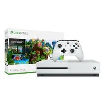 Microsoft Xbox One S 1TB Minecraft Bundle, White, Fast Gaming, Blu-Ray C... - $273.01
