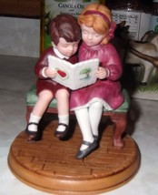 "Avon 1986 Jessie Wilcox Smith "" Be My Valentine"" 4"" Figurine - $5.00"