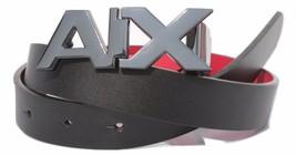 Armani Exchange AIX Womens Reversible Logo Hinge Belt Black/Tan, Size XS... - $74.75