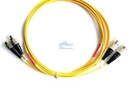 Optical SNS FC/UPC to FC/UPC Duplex Single Mode OS2 9/125 Patch Cord 15m... - $13.55