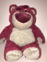 """Disney Store Toy Story 3 MC Lotso Huggin Bear Plush Stuffed Animal Pink 14"""" - $15.76"""