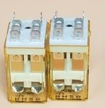 LOT OF 2 IDEC RH2B-U DC24V RELAYS RH2BU, 24VDC image 2
